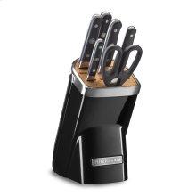 7-Piece Professional Series Cutlery Set - Onyx Black