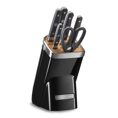 7-Piece Professional Series Cutlery Set - Onyx Black
