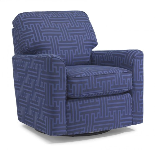 Darby Fabric Swivel Glider