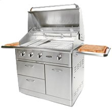 "Precision Series 40"" Freestanding Grill"