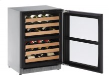 2000 Series 60 Cm Wine Cellar With Integrated Frame Finish and Field Reversible Door Swing (220-240 Volts / 50 Hz)