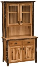 "Buffet & Hutch - 48"" Rustic Alder Product Image"