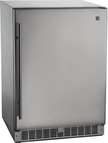 Outdoor Rated Stainless Steel Fridge Stainless Steel , Electric