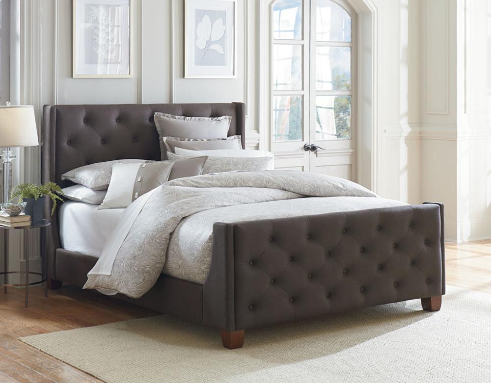 Standard Furniture 98650 Wilshire Boulevard Vinyl Bedroom Set Houston Texas  USA Aztec Furniture