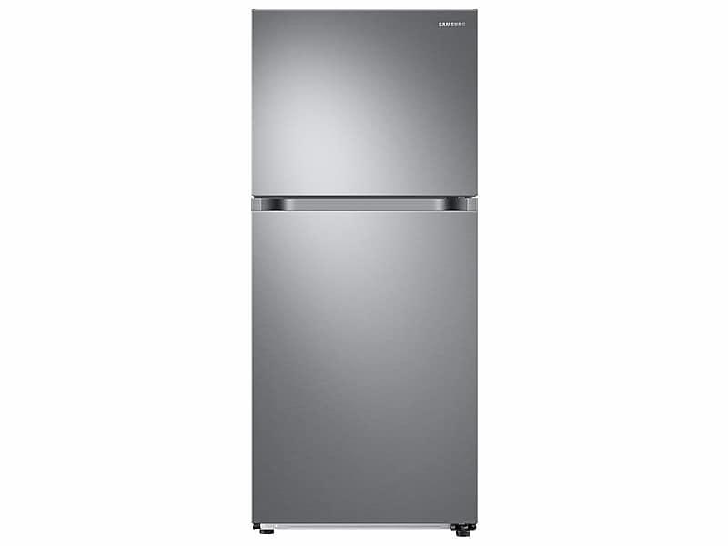 Samsung18 Cu. Ft. Top Freezer Refrigerator With Flexzone™ In Stainless Steel
