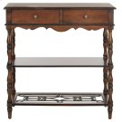 Fiona 2 Drawer Console - Dark Brown Product Image