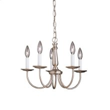 Salem Collection Mini Chandelier 5Lt NI
