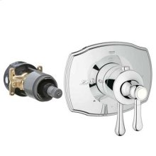 Starlight® Chrome Authentic Dual Function Thermostatic Trim With Control Module