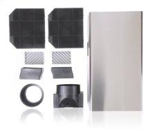 Wall Hood Recirculation Kit - Stainless Steel