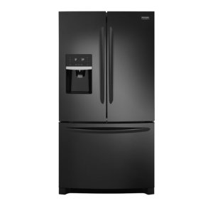 Gallery 26.8 Cu. Ft. French Door Refrigerator - EBONY BLACK