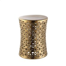 Ionian Stool Gold