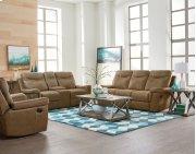 Manual Motion Brown Sofa Product Image