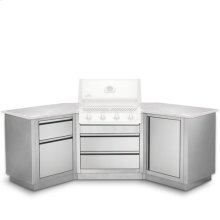 Oasis Modular Islands with the BIPRO500RB Grill Head