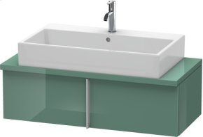 Vero Vanity Unit For Console Compact, Jade High Gloss Lacquer