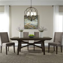Opt 5 Piece Trestle Table Set