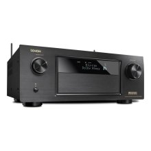 7.2 Channel Full 4K Ultra HD AV Receiver with 9.2 channel processing, Wi-Fi, Bluetooth ® , Dolby Atmos, DTS:X, HDCP2.2/HDR, MultEQ XT32, 8/3 HDMI In/Out, AL24 plus