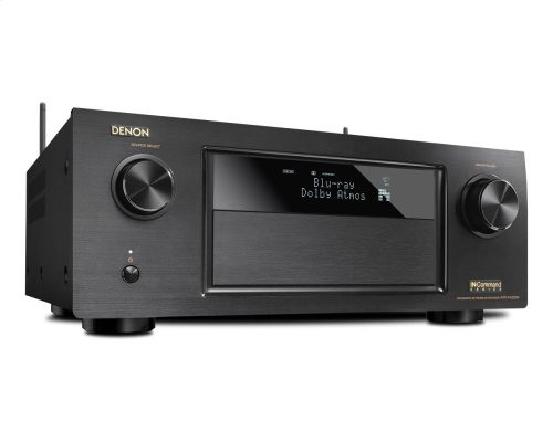 Display Unit Sugar Land Store 7.2 Channel Full 4K Ultra HD AV Receiver with 9.2 channel processing, Wi-Fi, Bluetooth ® , Dolby Atmos, DTS:X, HDCP2.2/HDR, MultEQ XT32, 8/3 HDMI In/Out, AL24 plus