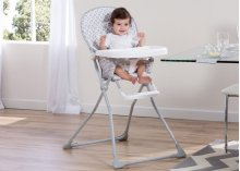 Delta Children EZ Fold High Chair - Glacier (2069)