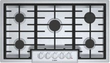 "800 Series 36"" 5 Burner Gas Cooktop, NGM8656UC, Stainless Steel"