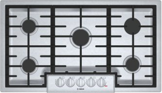 800 Series Gas Cooktop 36'' Stainless steel NGM8656UC