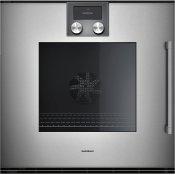 200 Series Oven 24'' Gaggenau Metallic, Door Hinge: Left, Door Hinge: Left