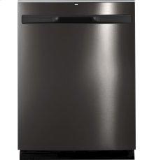 GE® Hybrid Stainless Steel Interior Dishwasher with Hidden Controls