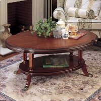 OVAL COFFEE TABLE Product Image