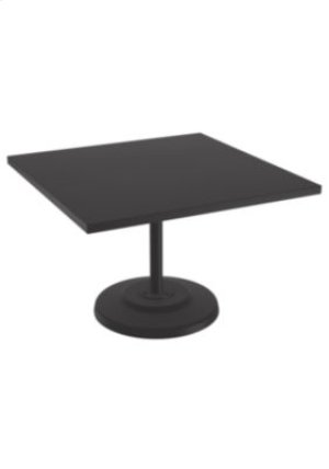 "Ion 42"" Square KD Pedestal Dining Table"