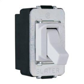 Despard Toggle Switch Screw Terminal 3-Way, White