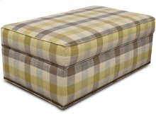 Macy Ottoman with Nails 2A2081N