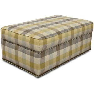 England Furniture Macy Storage Ottoman With Nails 2a2081n