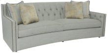"Candace Sofa (96"") in #44 Antique Nickel"