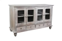 Sunset Trading Cottage Distressed Gray Wood Sideboard