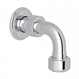 Polished Chrome Perrin & Rowe Return Elbow