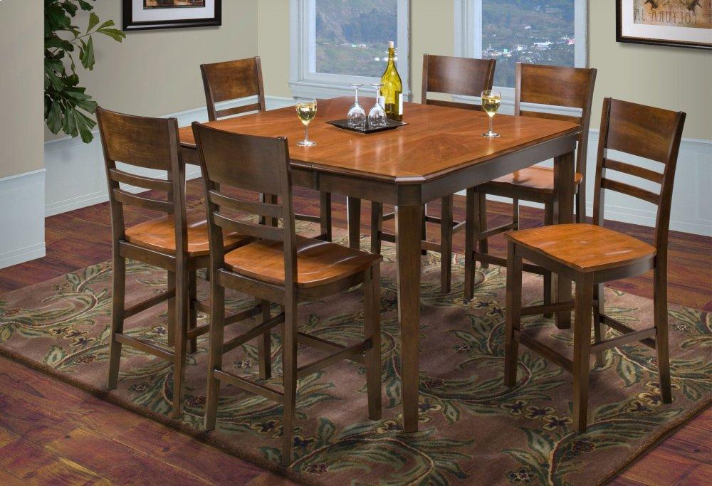 4015011New Classic Furniture Latitudes Cut Corner Dining ...