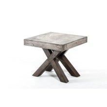 Modrest Urban Concrete Square End Table