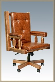 Homestead Office Chair - Stained & Lacquered