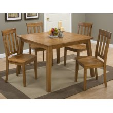 Simplicity Honey Square Dining Table