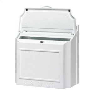Wall Mailbox - White Product Image