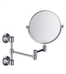 Polished Chrome Shaving mirror
