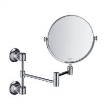 Polished Chrome Shaving mirror