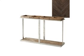 Six Console Table, Dark Echo Oak