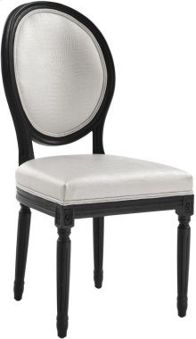 Philip White Croc Dining Chair (Set of 2)