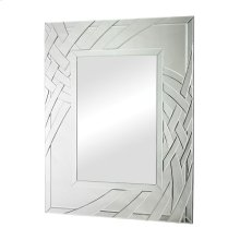 ARCHED RIBBONS CLEAR GLASS MIRROR