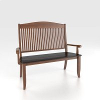 Wooden seat bench Product Image