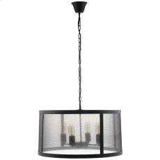 Frost Chandelier in Black Product Image