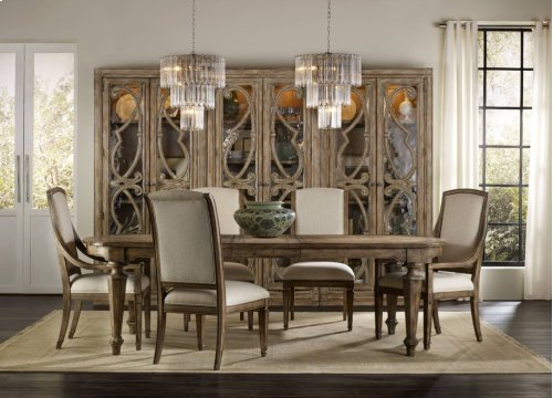 Solana Rectangle Dining Table w/2-18in Leaves
