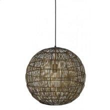 Hanging lamp 50x50 cm SARAH bronze