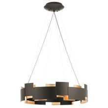 Moderne Collection Moderne 2 Light LED Chandelier/Pendant OZ