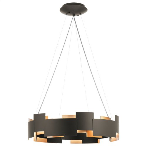 Moderne Collection Moderne 2 Light LED Chandelier/Pendant OZ